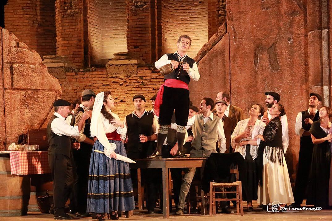 Cavalleria Rusticana Teatro Antico Taormina 2016
